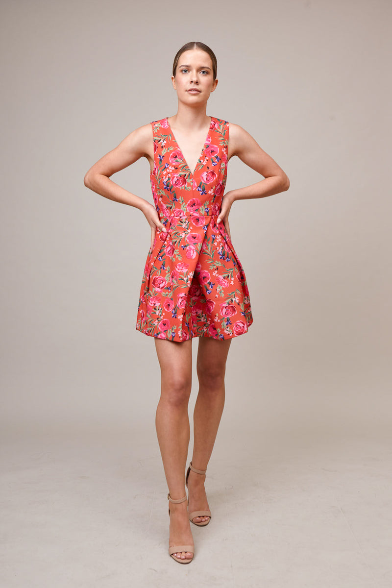 KEEPSAKE-THE-LABEL-GONE-GIRL-DRESS-TANGERINE-FLORAL