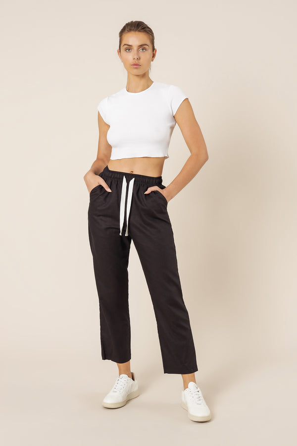 NUDE-LUCY-NUDE-CLASSIC-PANT-BLACK