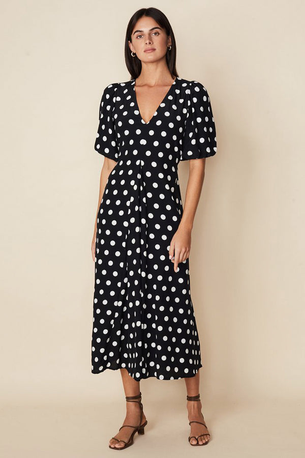 FAITHFULL-THE-BRAND-LA-TORRE-MIDI-DRESS-EMELDA-DOT-PRINT-BLACK