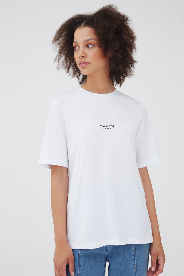 SCHEDULE T-SHIRT - WHITE
