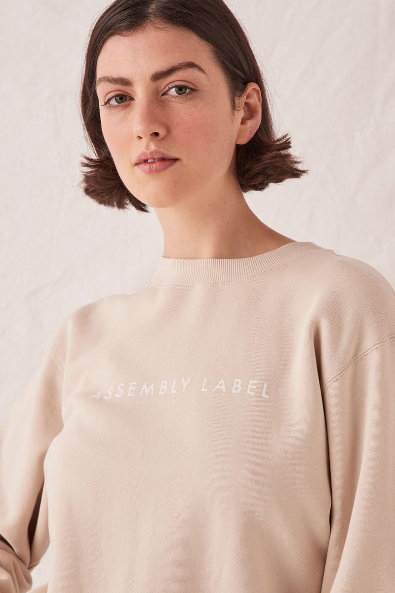 assembly-label-LOGO-FLEECE-IVORY