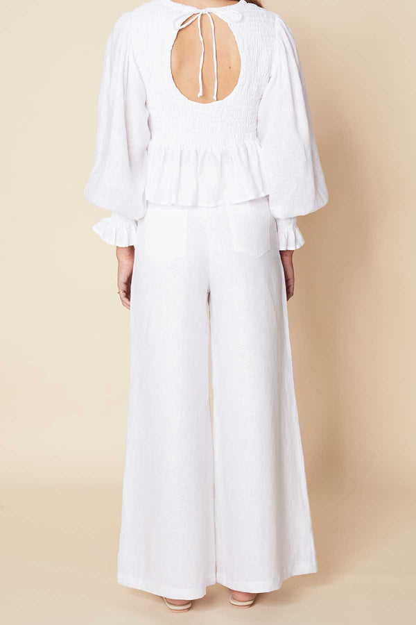 Faithfull-the-brand-savita-top-plain-white