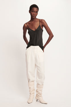 SILK-LAUNDRY-BIAS-CUT-CAMI-BLACK