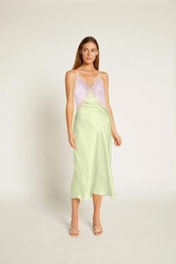 Ginia-Sadie-Dress-Lilac/Lime-Creme