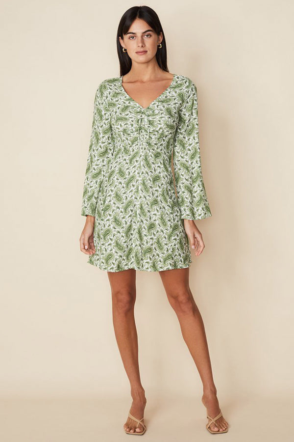 FAITHFULL-THE-BRAND-THOMASINA-MINI-DRESS-SABLE-PAISLEY-PRINT-GREEN