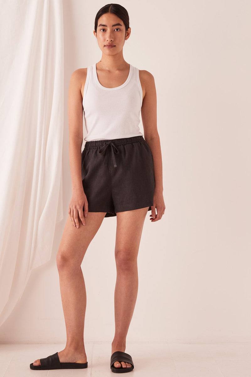 ASSEMBLY-LABEL-ANIKA-LINEN-SHORT-BLACK