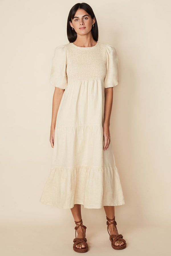 FAITHFULL-THE-BRAND-ALBERTE-DRESS-PLAIN-SAND