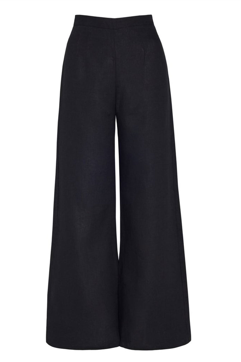 FAITHFULL-SIBYL-PANTS-PLAIN-PLACK