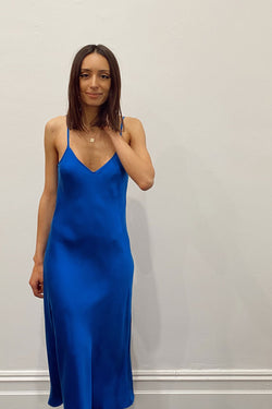 silk-laundry-90S-SILK-SLIP-DRESS-COBALT-BLUE