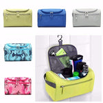 Nylon Waterproof Lightweight Portable Travel Wash Bag Cosmetic Bag