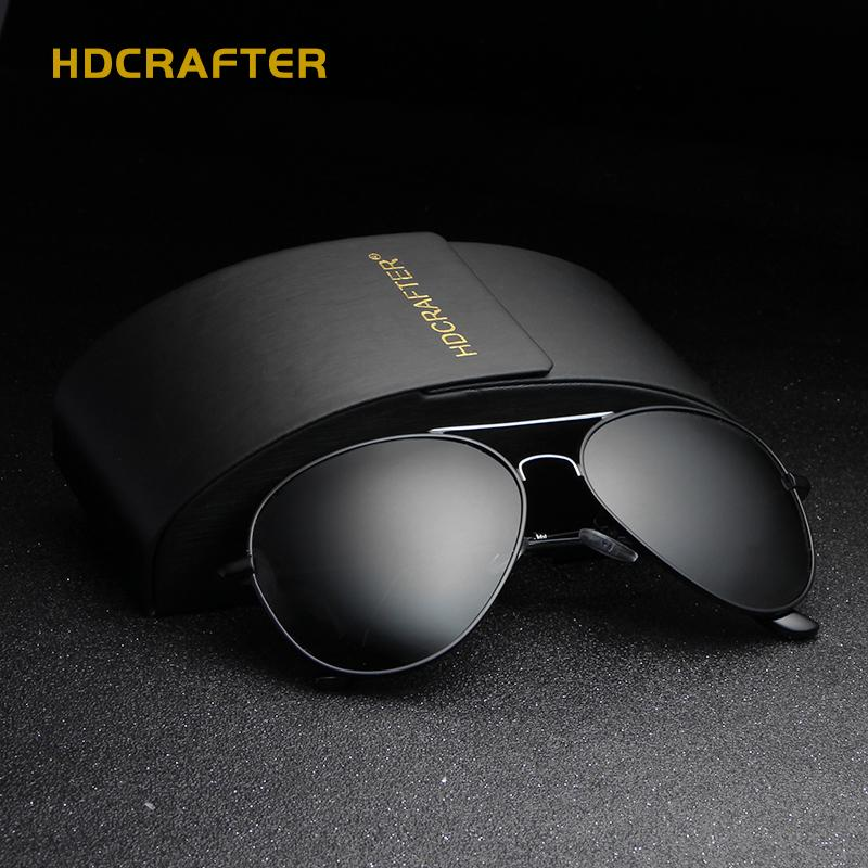 Driving Polarized  Vintage Pilot Sun Glasses With Box