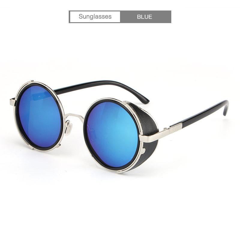 Punk Unisex Polarized Fashion Vintage Pilot Sun Glasses