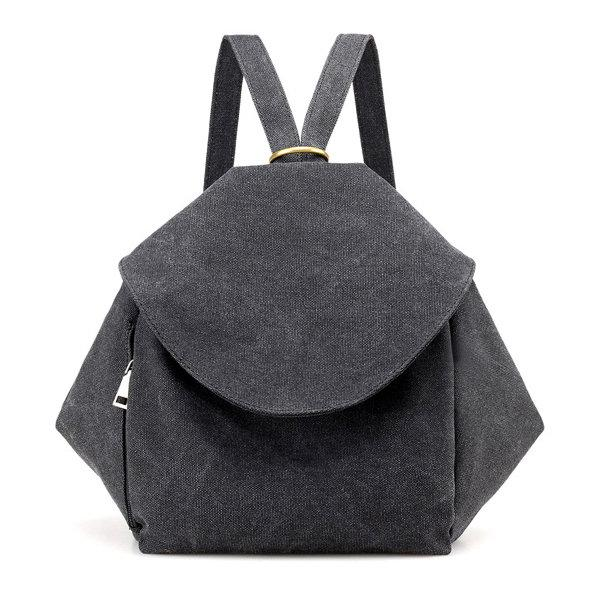 Canvas Casual Backpack Crossbody Bag Multifunctional