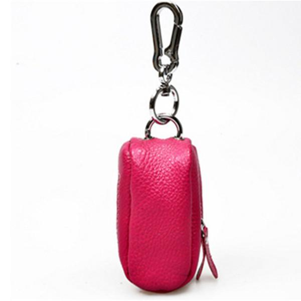 Genuine Leather Car Key Holder House Key Holder Storage Bag