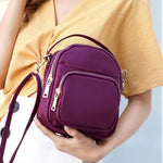Nylon Casual 6 Inches Phone Bag Shoulder Bag Crossbody Bags