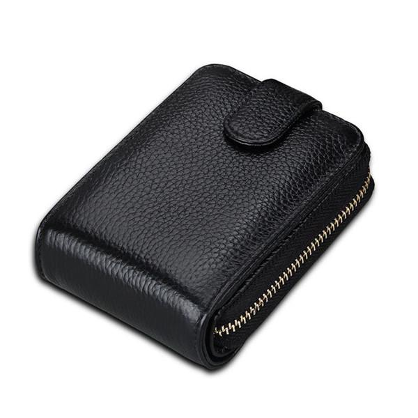16 Card Slots RFID Credit Card Holder Wallet Men Women Purse