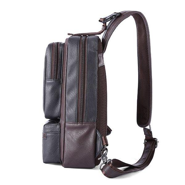 Large Capacity Outdoor Casual Sport Chest Bag Sling Crossbody Bag