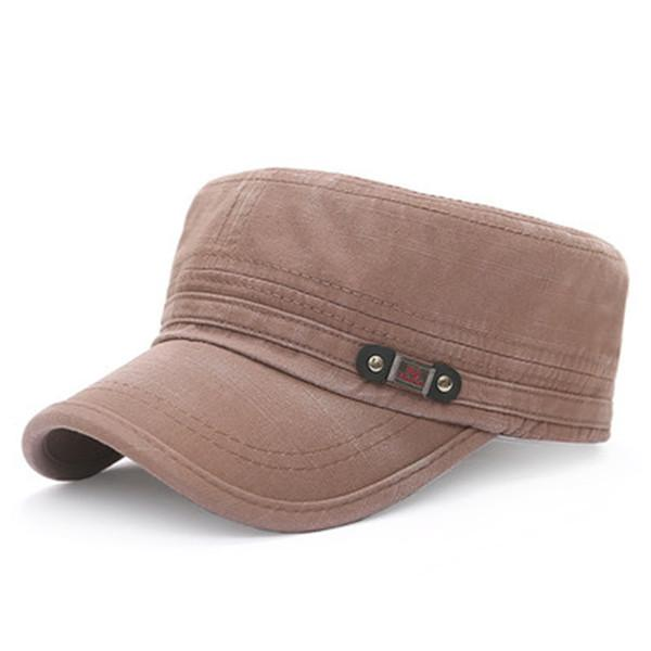 Flat Top Caps Hat Adjustable Outdoor Hunting Sunscreen Army Caps