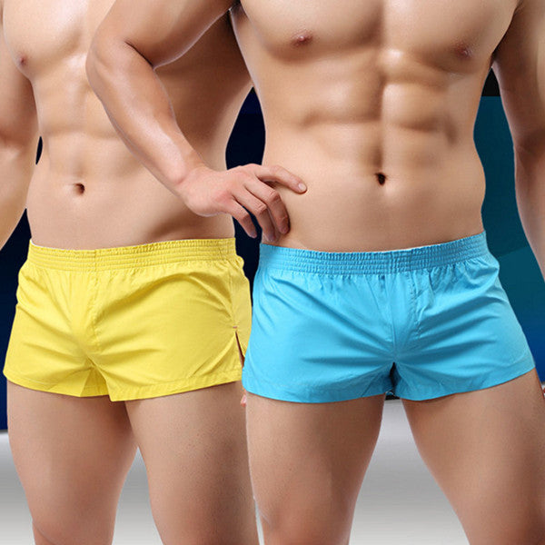 Arrow Pants Home Low Waist Cotton Inside Pouch Breathable Boxers