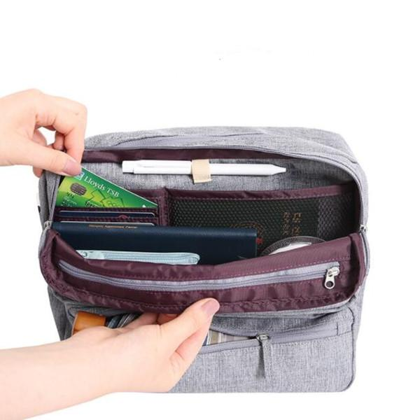 Outdoor Large Capacity Crossbody Bag Functional Storage Bag