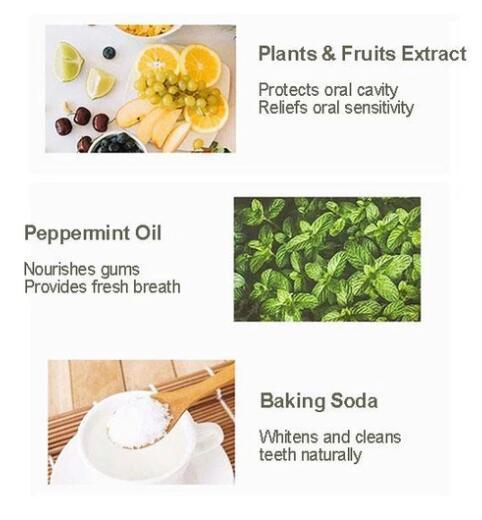 BAKING SODA NATURAL TOOTHPASTE