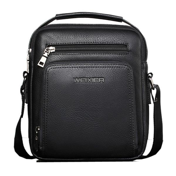 PU Leather Vintage Waterproof Multi-functional Shoulder Crossbody Bag
