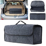 Car Trunk Seat Back Rear Storage Organizer Hanger Storage Bins