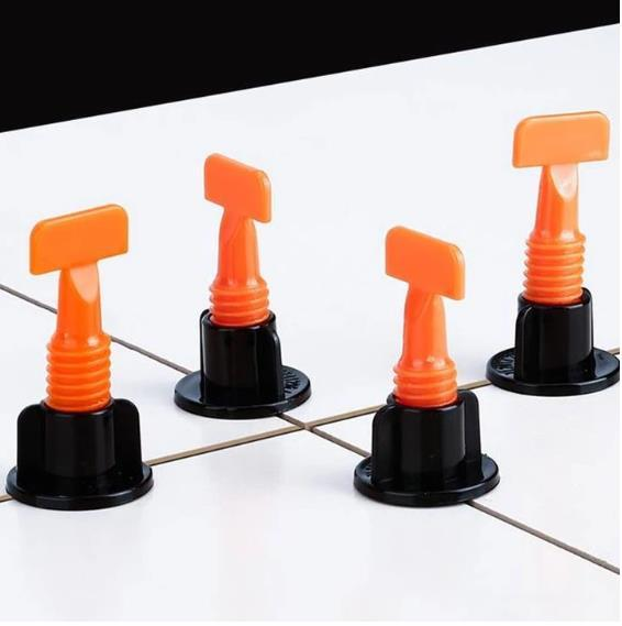 Reusable Anti-Lippage Tile Leveling System (50 Pcs/ Pack)
