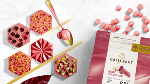 Callebaut RB1 Ruby Chocolate