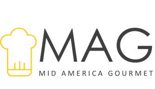 Mid America Gourmet Logo with Yellow Hat