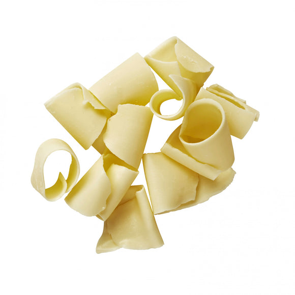 White Curled Chocolate Shavings Medium