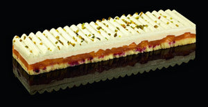 Peach Melba Gateau Strip