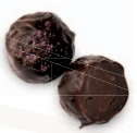 Blueberry Port Wine Truffle