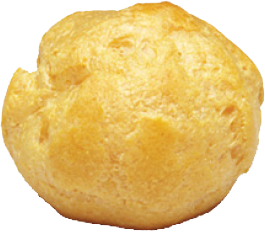 "Profiterole 1.75"" Neutral V#HA658"
