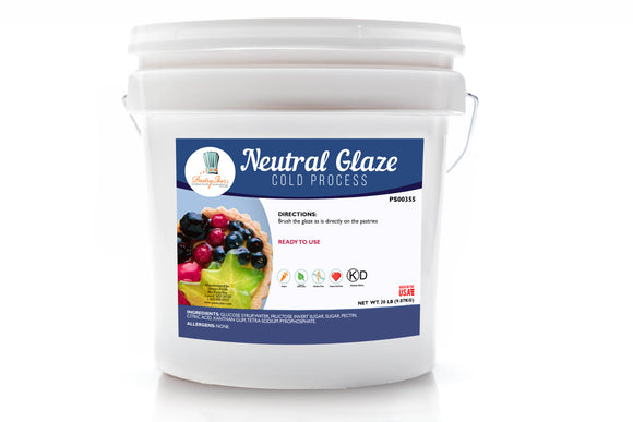 Neutral Glaze Cold Process Clean Label