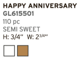 Happy Anniversary  Plaquette