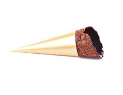 Chocolate Mini Cone