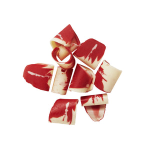 Red & Semisweet Marbled Shavings