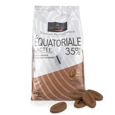 VALRHONA MILK EQUATORIALE 35% Grand Cru Blend