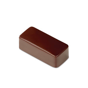 Pavoni Polycarbonate Chocolate Mold, Smooth Rectangle 21 Cavities