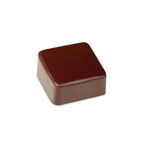 Pavoni Polycarbonate Chocolate Mold, Smooth Square 21 Cavities