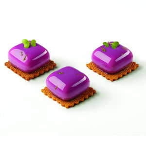 Pavoni Silicone MISTER MIGNON Mold, 35 x 35 x 20 H, 30 Cavities