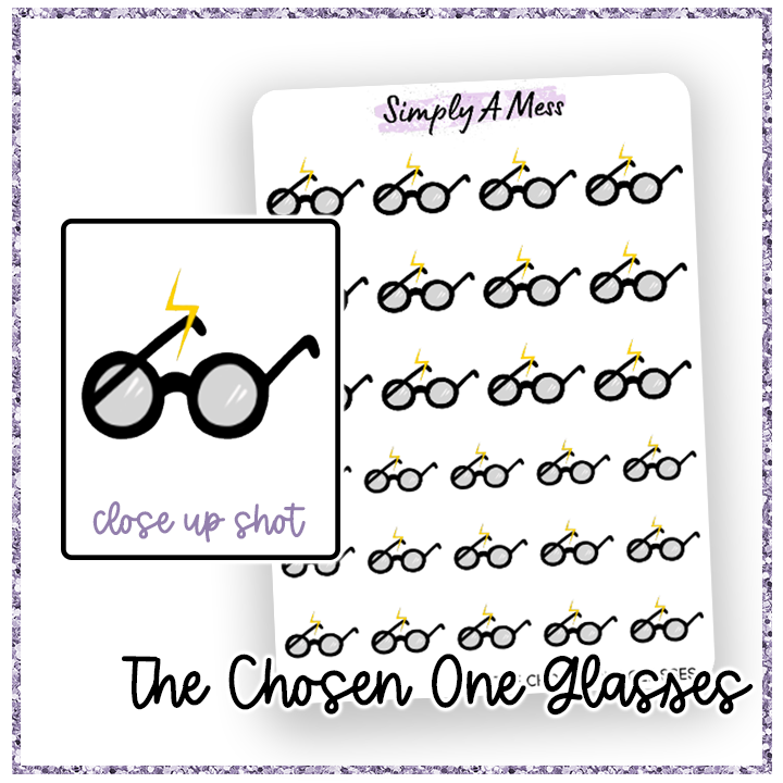 The Chosen One Glasses | Decorative Icons