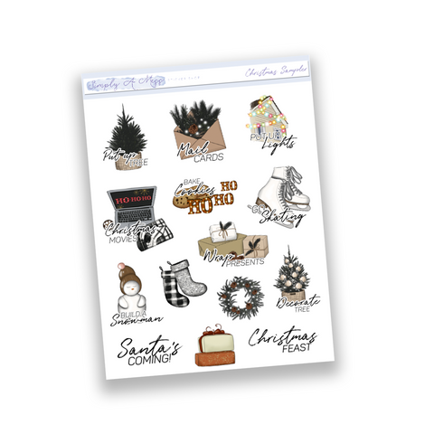 Christmas Sampler | Functional Icons