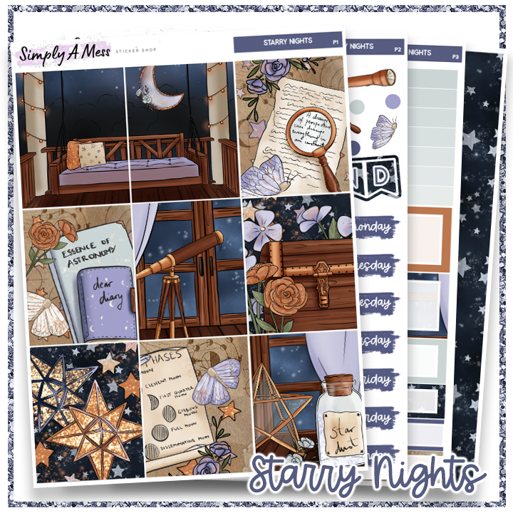 Starry Nights | Weekly Kit *NEW PAPER ONLY*