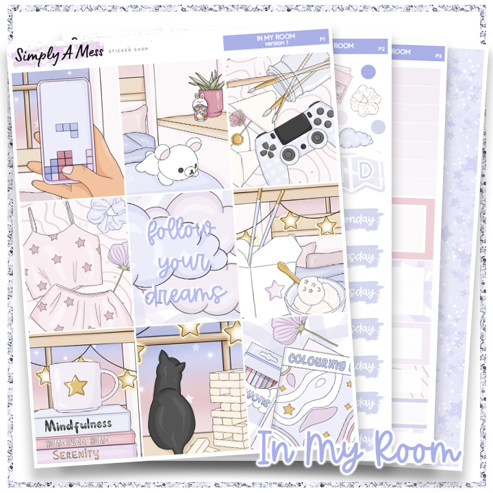In My Room | Weekly Kit *NEW PAPER ONLY*