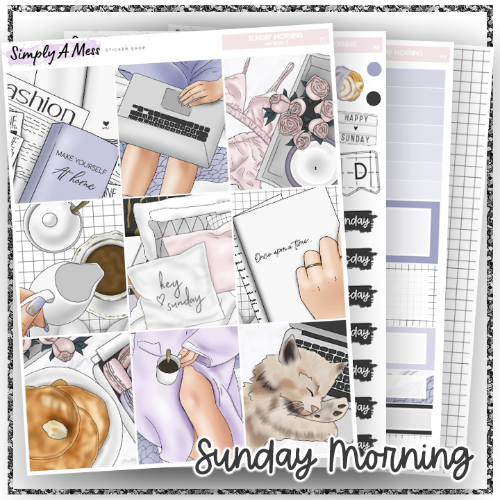 Sunday Morning | Weekly Kit *NEW PAPER ONLY*