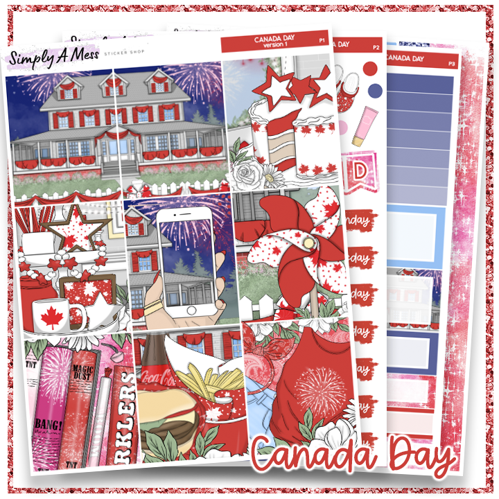 Canada Day | Weekly Kit *NEW PAPER ONLY*