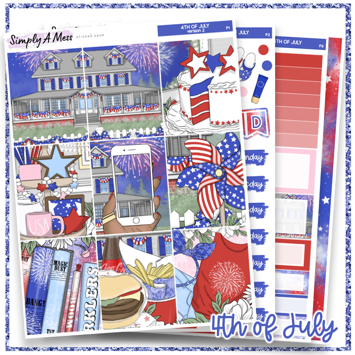 4th of July | Weekly Kit *NEW PAPER ONLY*