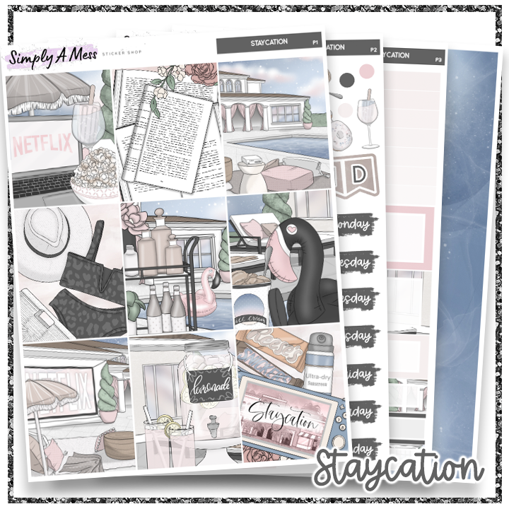 Staycation | Weekly Kit *NEW PAPER ONLY*